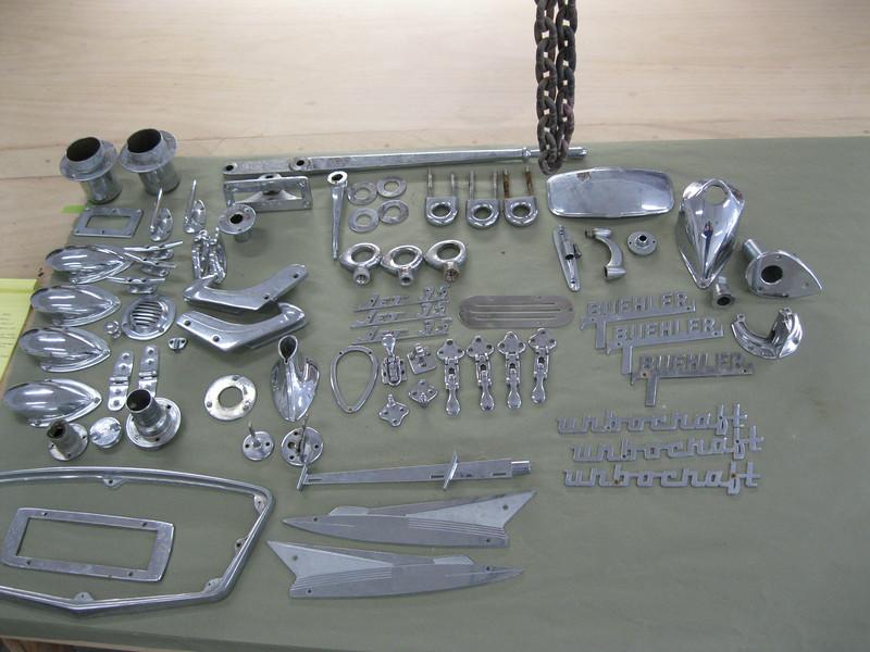 Chrome inventory to go to the chrome shop.