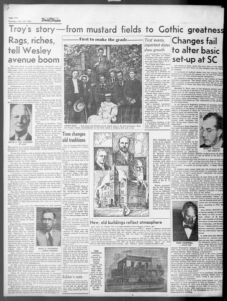 Daily Trojan, Vol. 37, No. 54, January 22, 1946