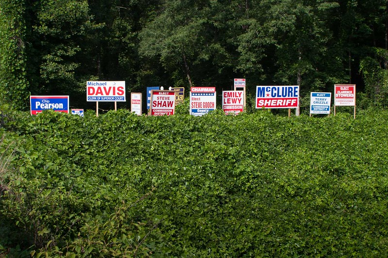 Kudzu and politics, southern triditions!