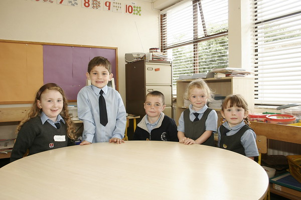 Castlejordan New pupils