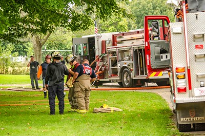 09-23-18 Walhonding Valley FD House Fire