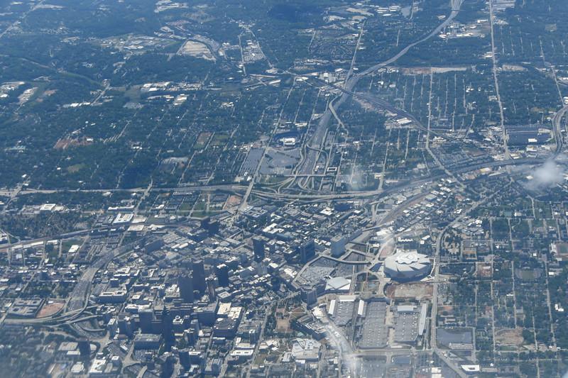 Atlanta, Georgia; Airborne - Atlanta to Philadelphia