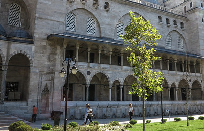 MOSQUES AND TOPKAPI ISTANBUL TURKEY
