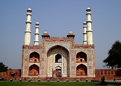Akbars Tomb, Agra