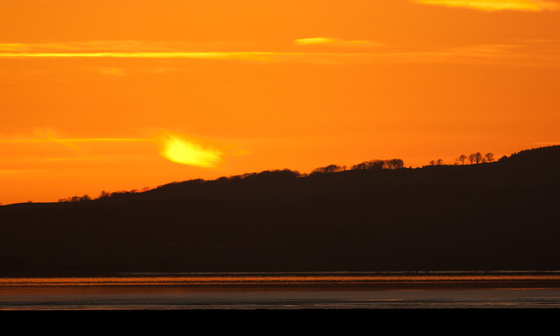 Sunset over Solway