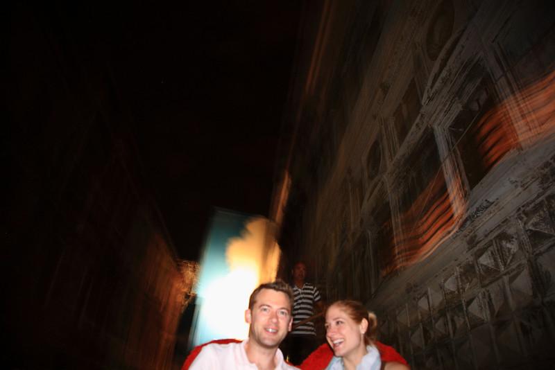 Late night gondola ride.