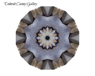 Blue Chaldonacy Crystal Mandalas