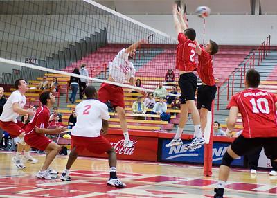 Men's Volleyball vs. Rutgers 2010