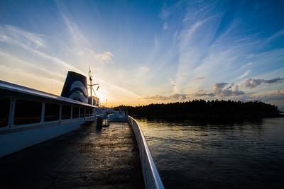Mayne Island, British Columbia, Canada, 2016