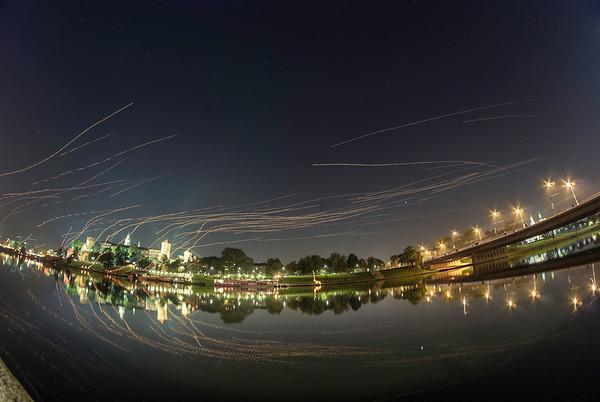 Evening of lanterns