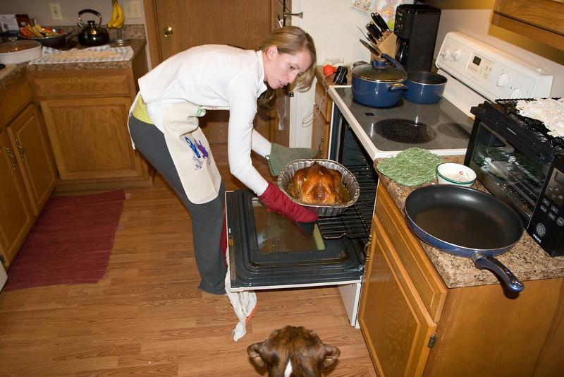 Dekker thinks the turkey's ready