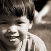 Child's portrait.