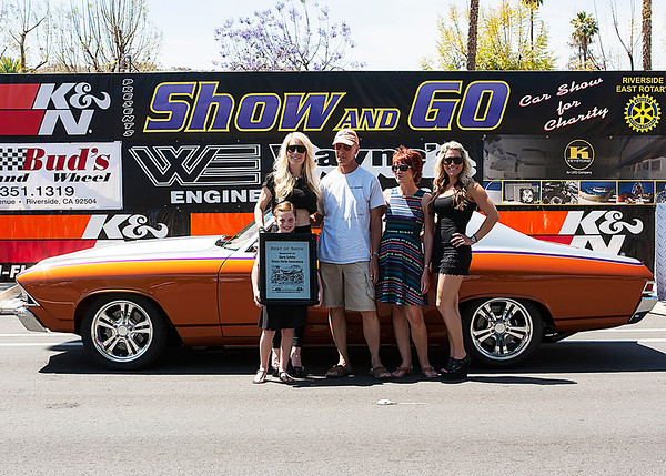 2014 Riverside Show & Go - Awards