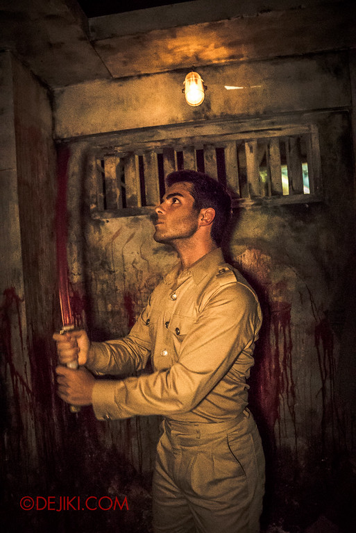 Halloween Horror Nights 6 Final Weekend - Old Changi Hospital revisited / Soldier Tony V