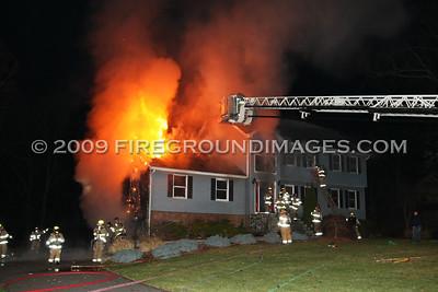 Lantern Dr. Fire (Seymour, CT) 12/5/09