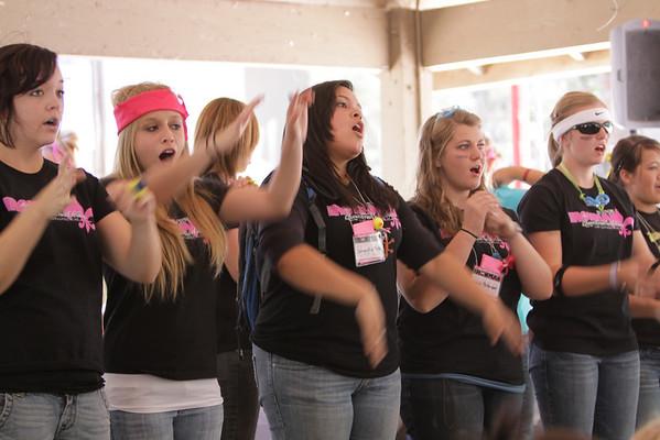 GirlsCamp2010-Bishop's Challenge