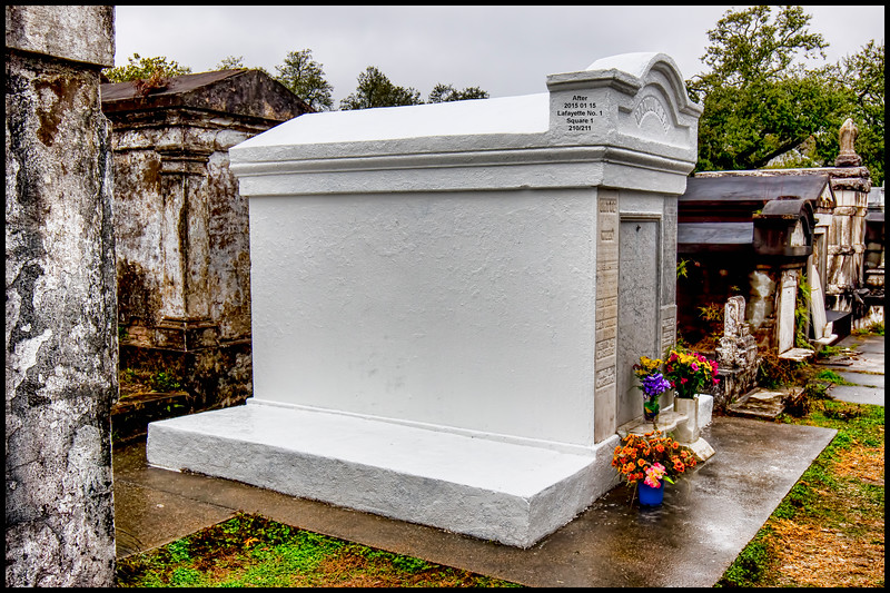 Julius Manouvrier Tomb - As Photographed on January 15, 2015