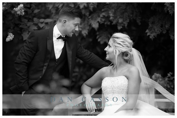 Rebecca & Anthony.  PACKFORDS HOTEL