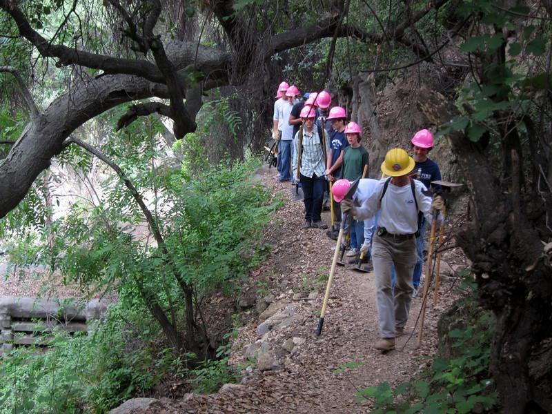 20110507002-El Prieto Trailwork.JPG