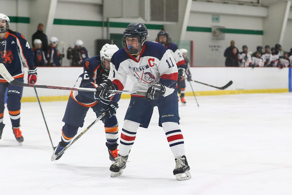 2019-1-3 Saints-Warriors Girls Hockey vs Conval-Conant High School