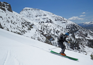 Hayden Peak Backcountry ski