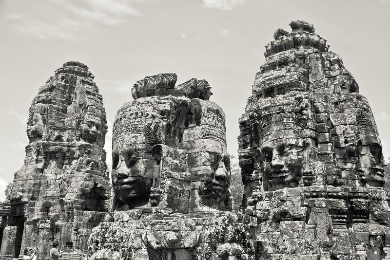 Gods that look like Suryavarman, Bayon