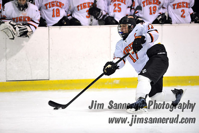 White Plains High School Tigers vs. Brookfield-Bethel-Danbury Icecats Varsity Ice Hockey at Ebersole Ice Rink