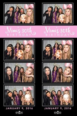Mimi's 30th (prints)