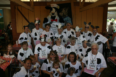 Chick Fil A, Cow Appreciation Day 2011