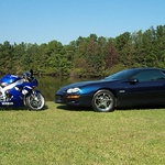 Wes's 1999 Camaro Z28 and Yamaha R1