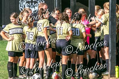 MS Girls Soccer action