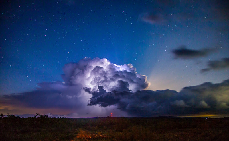 Oklahoma Lightning Storm