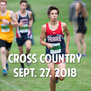 Prairie Cross Country 9-27-2018