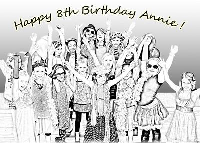 Annie 8th Bday