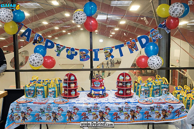 """ELIJAH 6TH BIRTDAY PARTY """"ALL PAWS ON DECK!"""""""