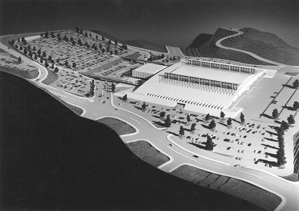 1966, Convention Center Model