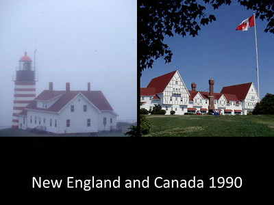 1990 New Englind and Canada