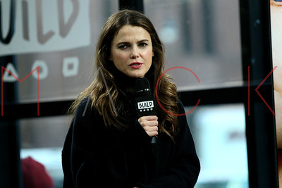 """NEW YORK, NY - MARCH 08:  Build Series Presents Keri Russell discussing """"The Americans"""" at Build Studio."""