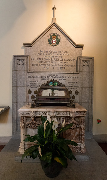 The Queen's Own Rifles of Canada Memorial