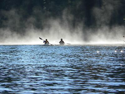 Late Fall Lake Paddle