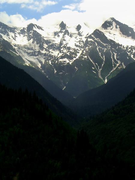 Snow-capped Peaks - Svaneti, Georgia
