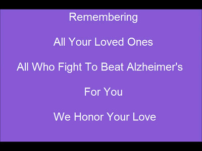 """Remember Me"" - Fight Against Alzheimer's - This Video is Dedicated to Your Loved Ones"