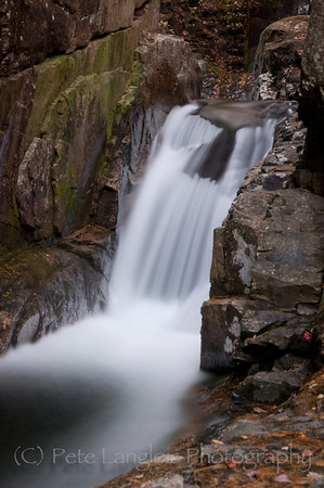 Sabbaday Falls, Kancamagus Highway (Rt 112) in Waterville, NH