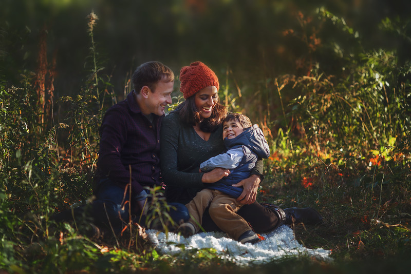 Happy families by Toronto photographer