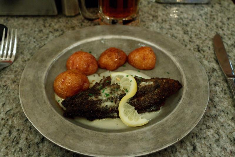 Blackened Catfish at Arnaud's Remoulade