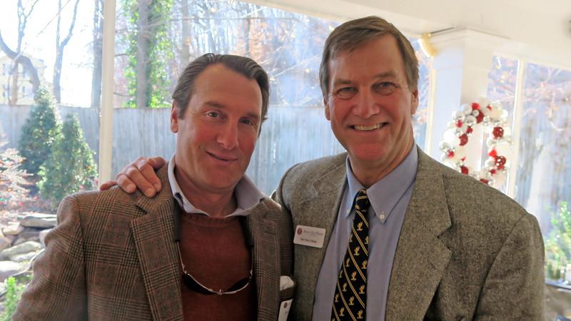 Andrew Stifel '83 and Tim Trautman '75 P'03