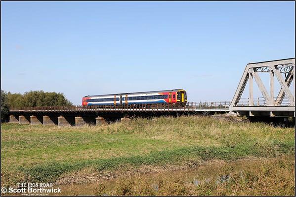 Class 158 (BREL Express Sprinter): East Midlands Railway (EMR)
