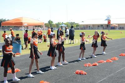 JV Trinity Youth Football and Cheer