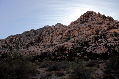 Sunrise and Red Rock Canyon