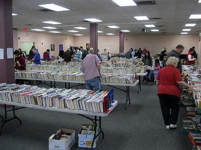 Book/Bake Sale 2010